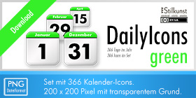 Titelbild Download DailyIcons green